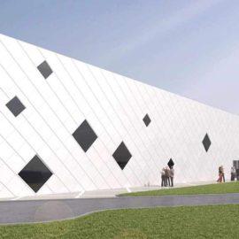 Centre Omnisports - façade principale