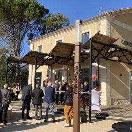 inauguration de la nouvelle gare de générac