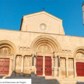 Abbatiale de Saint-Gilles - Photo Magazine Nîmes Métropole (septembre 2021)