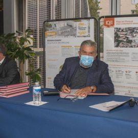 Mas de Mingue / Place des Grillons : signature convention d'OPAH