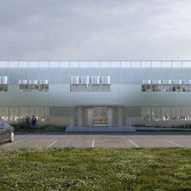 Projet de réhabilitation du bâtiment B46 - façade
