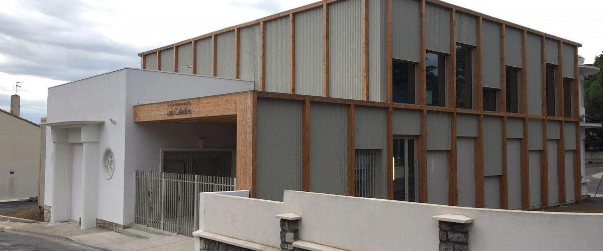 Réhabilitation de l'Ecole maternelle Les Calades
