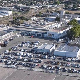 ZAC Marché Gare depuis la route de Montpellier