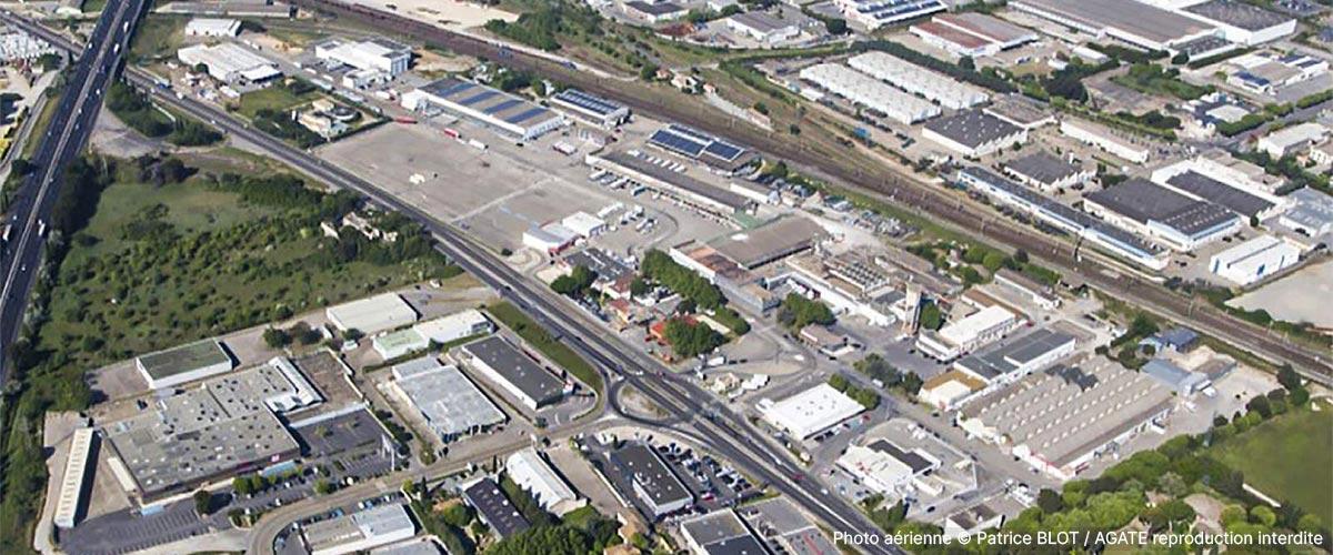 ZAC Marché Gare - vue aérienne
